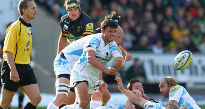 Jonny Arr: The scrum-half has extended his stay at Sixways