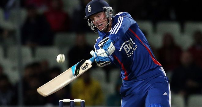 Jos Buttler: praised by his skipper after hitting 32 from just 10 deliveries