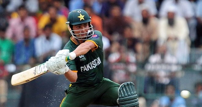 Fast hands: Wicketkeeper Akmal has five T20 international fifties to his name