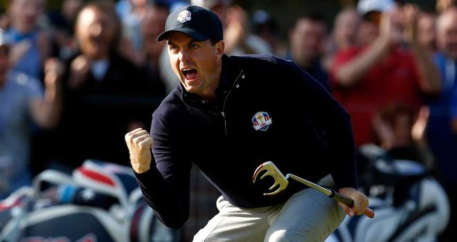 Keegan Bradley: 100 per cent Ryder Cup record