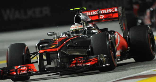 McLaren: Whitmarsh is happy there is no problems with the MP4-27's front wing