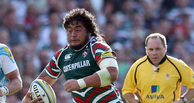 Logovi'i Mulipola: Will start for Leicester at Wembley