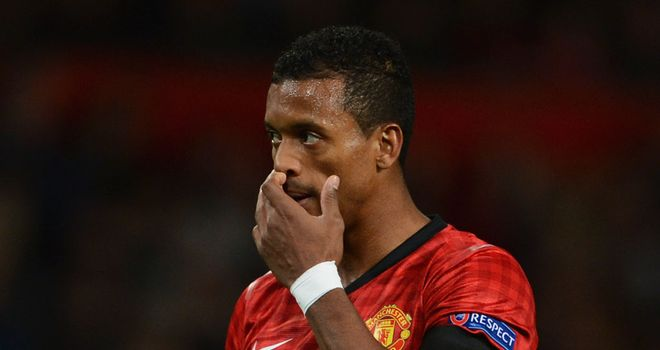 Nani: Out for 10 days with a pulled hamstring