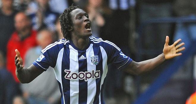 Romelu Lukaku: Impressed and scored in West Brom's defeat at Newcastle