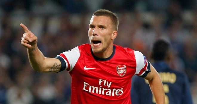 Lukas Podolski: Vows to end Arsenal's seven-year trophy drought
