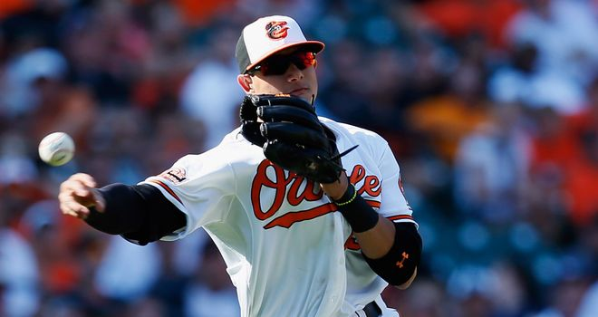 Manny Machado: Three hits for Baltimore Orioles