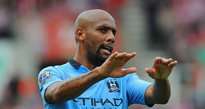 Maicon: Ready for his first experience of the Manchester derby