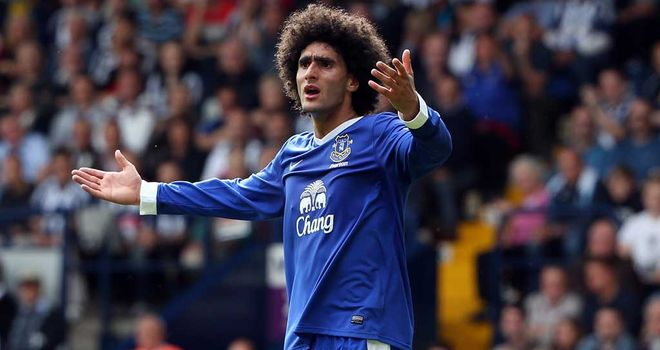 Marouane Fellaini: Hopes to return soon