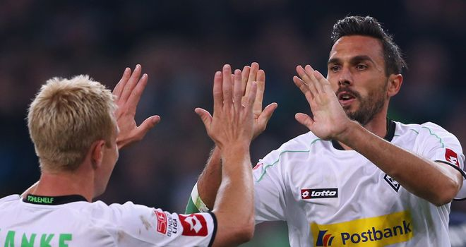 Martin Stranzl had pulled Gladbach level
