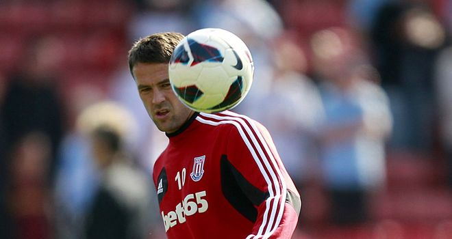 Michael Owen: Striker has only featured four times for Stoke this season