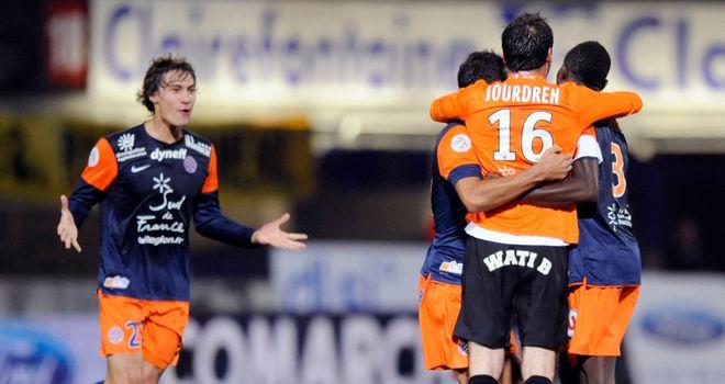 Celebrations for Montpellier.