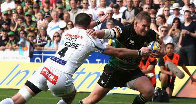 Hartley: hardly a step wrong against Exeter