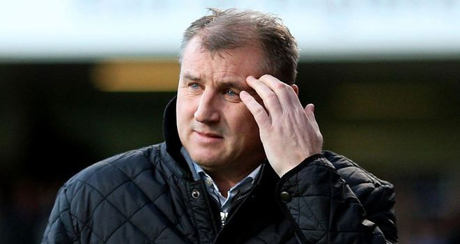 Paul Jewell: Under pressure at Ipswich but retains the support of his chief executive
