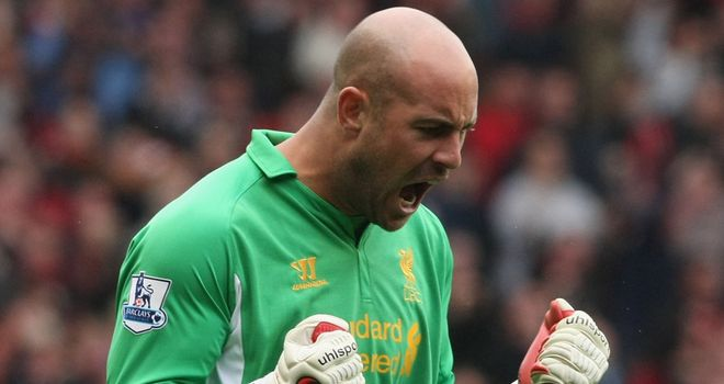 Pepe Reina: Glad to be back in the Liverpool team