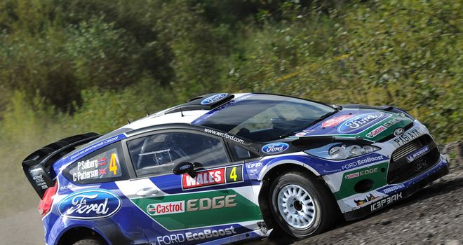 Petter Solberg: took the initial two stage wins