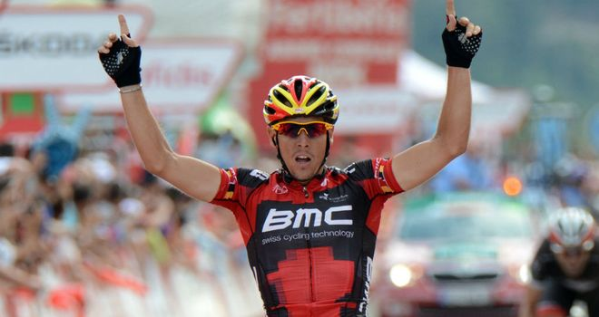 Philippe Gilbert: Timed his kick perfectly to claim his second Vuelta stage