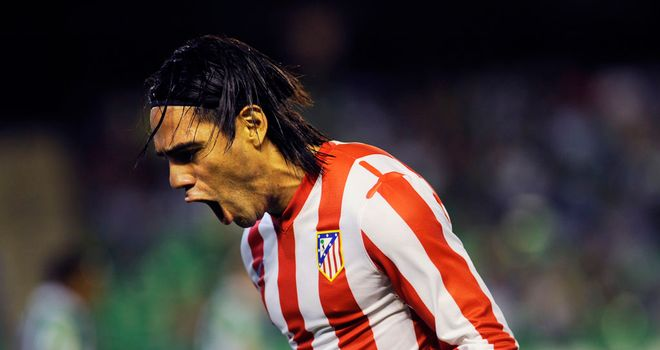 Radamel Falcao: Inspired Atletico Madrid to a 4-2 win over ten-man Real Betis