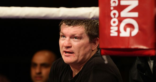 Ricky Hatton: Cleared to return by the British board