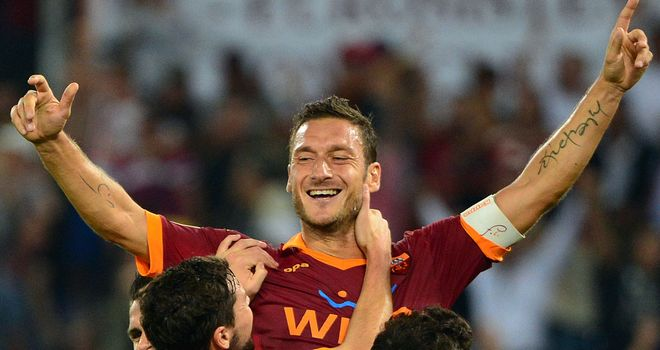 Totti: Wrote his name into the history books