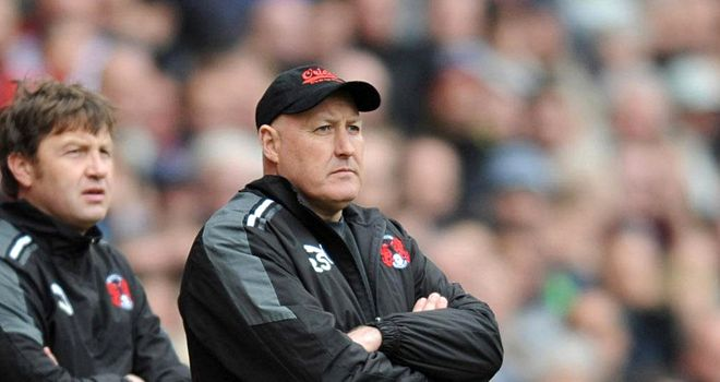 Russell Slade: has now seen his side's last two matches fall foul of the weather