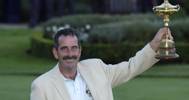 Sam Torrance: led Europe to victory in 2002