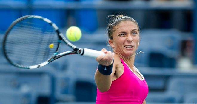 Sara Errani: Reached the last four of the US Open two years ago