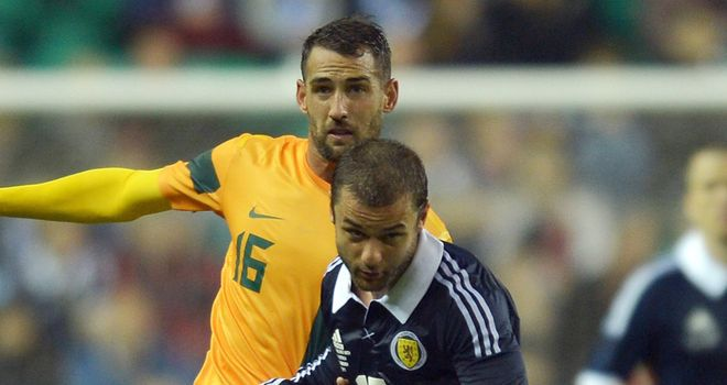 Shaun Maloney: Scottish confidence is growing