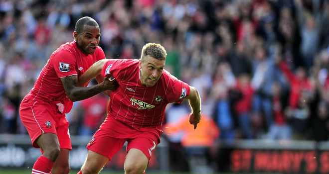 Rickie Lambert: Southampton's talisman delighted with thumping home win