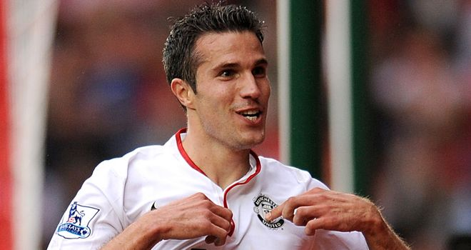 Robin van Persie: Named PFA Fans' Player of the Month for September in the Premier League