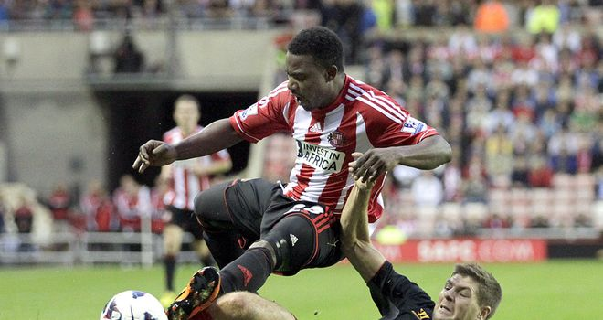 Stephane Sessegnon: Determined to help Sunderland claim derby success