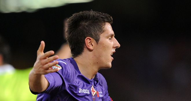 Stevan Jovetic: Fiorentina forward is on Manchester City's radar