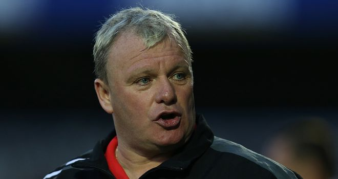 Steve Evans: Believes he has a very capable squad