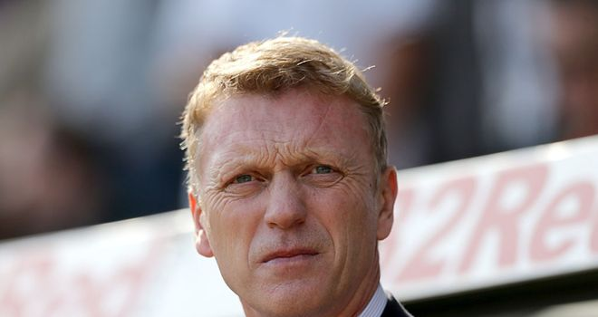 David Moyes: Looking to secure a fifth derby win in charge of Everton