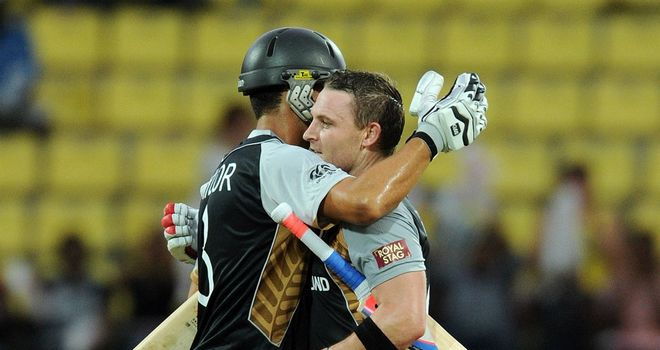 Brendan McCullum (right): Backing Ross Taylor to shine against England