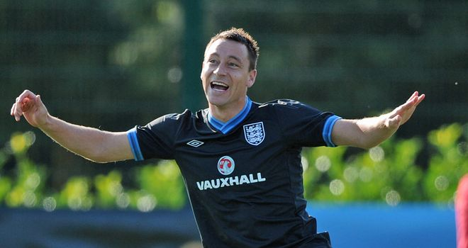 John Terry: Appears to have won battle to be fit for England double-header