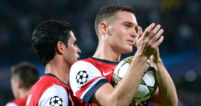 Thomas Vermaelen: Captain says Arsenal can take confidence from beating Olympiakos 3-1