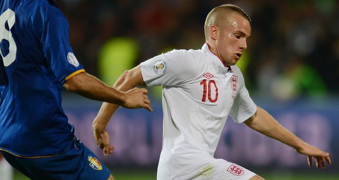 Tom Cleverley: The midfielder was impressive for England in the thrashing of Moldova