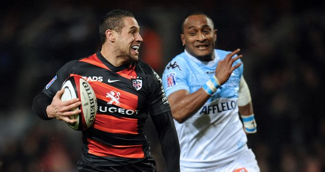Luke McAlister: pulled the strings in the Toulouse back division