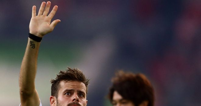 Tranquillo Barnetta: Happy with loan move to Eintracht Frankfurt