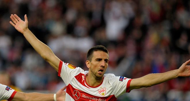 Vedad Ibisevic: Scored for Stuttgart