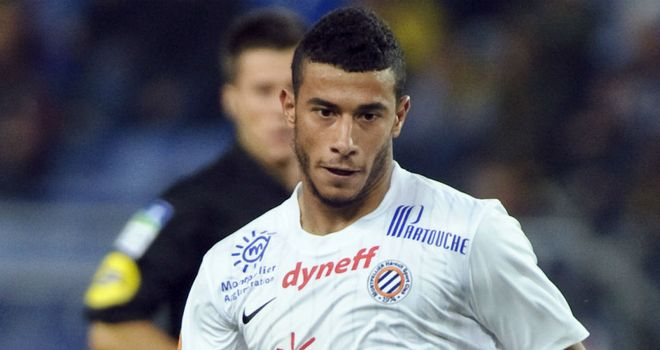 Younes Belhanda: Set to leave Montpellier in the summer