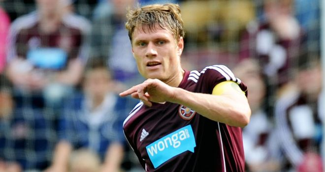 Marius Zaliukas: Admits he is uncertain about his future at Hearts