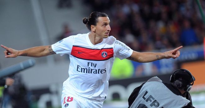 Zlatan Ibrahimovic: Left AC Milan for Paris St Germain in a big-money move over the summer