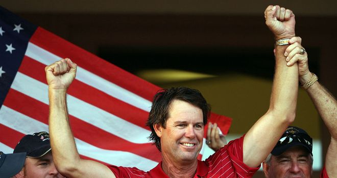 Paul Azinger: Celebrating America's victory in Kentucky in 2008