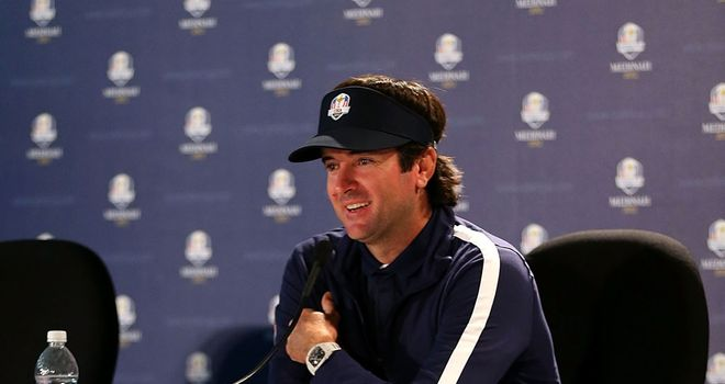 Bubba Watson: Friendships put to one side this week