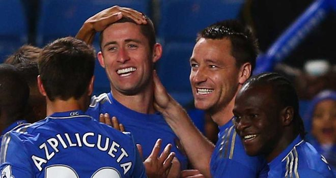 Gary Cahill: Enjoying the new-look Chelsea despite a lack of protection at times
