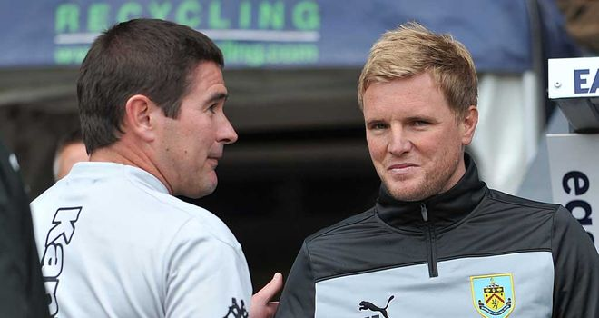 Nigel Clough and Eddie Howe: Different emotions after the final whistle