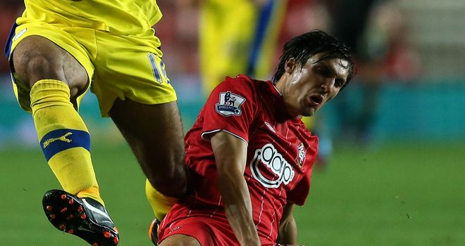 Jack Cork: Injured on his Southampton first team return against Sheffield Wednesday