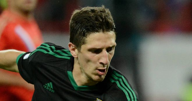 Craig Cathcart: Northern Ireland defender plans to learn after conceding a penalty in the 2-0 defeat by Russia