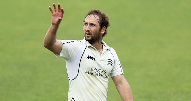 Steven Crook: Re-joining Northamptonshire from Middlesex